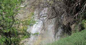 آبشار «اما» در زمستان هم دیدنی است! سایت 4s3.ir