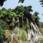 آبشار بیشه به روایت تصویر سایت 4s3.ir