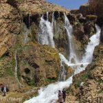 آبشار شیخ علی خان کوهرنگ سایت 4s3.ir
