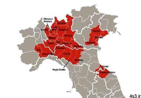 خبرهای پزشکی : آمار قربانیان ویروس کرونا در ایتالیا ۴ رقمی شد سایت 4s3.ir
