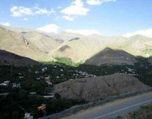 افجه روستایی زیبا در تهران! سایت 4s3.ir