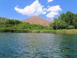 اوان، دریاچه ای بر بام قزوین + تصاویر سایت 4s3.ir