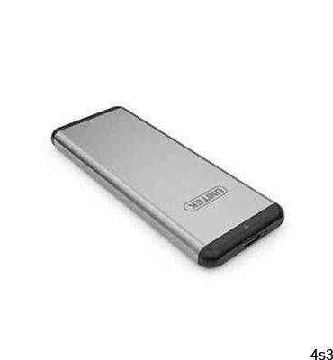 باکس هارد M.2 SSD (type-c unitek (USB3.0 |مدل ۳۳۶۵-Y ده سال گارانتی تعویض سایت 4s3.ir