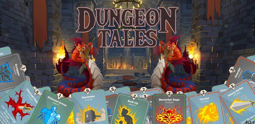 """Dungeon Tales 1.96 – بازی کارتی جالب و مهیج ماجراهای سیاه چال اندروید مود - دانلود Dungeon Tales 1.96 – بازی کارتی جالب و مهیج """"ماجراهای سیاه چال"""" اندروید + مود"""