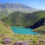 دریاچهای تاریک و ماندگار در دل کوه دماوند سایت 4s3.ir