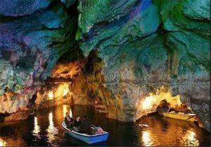 دومین غار بزرگ آبی ایران سایت 4s3.ir