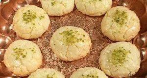 شیرینی نارگیلی ساندویچی برای عید فطر سایت 4s3.ir