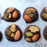 طرز تهیه اسنک شکلات تلخ سایت 4s3.ir