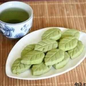 طرز تهیه بیسکوئیت چای سبز سایت 4s3.ir