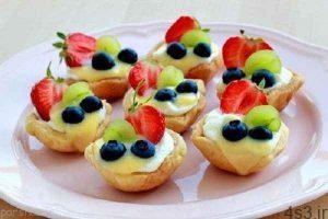 طرز تهیه تارت میوه ای برای نوروز سایت 4s3.ir