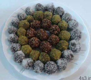 طرز تهیه توپک خرمایی برای سفره افطار ماه رمضان سایت 4s3.ir