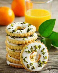 طرز تهیه شیرینی لیمویی یا پرتقالی سایت 4s3.ir