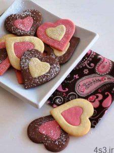 طرز تهیه شیرینی های قلبی برای روز عشق سایت 4s3.ir