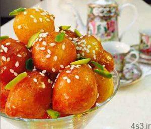طرز تهیه لگیمات (لیقمات) شیرینی سنتی فوق العاده ی بوشهری سایت 4s3.ir
