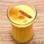 طرز تهیه مخلوط شیر و تخم مرغ سایت 4s3.ir