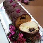 طرز تهیه کیک با مغز نوتلا و روکش شکلاتی سایت 4s3.ir