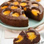 طرز تهیه کیک شکلات و زردآلو سایت 4s3.ir
