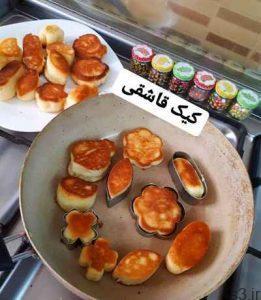 طرز تهیه کیک قاشقی بدون فر سایت 4s3.ir