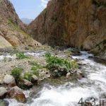 قله خلنو و زیباییهای مسیر پیمودن آن سایت 4s3.ir