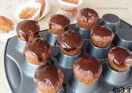 مافین چغندر و شکلات سایت 4s3.ir