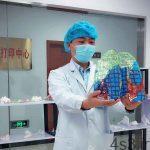 خبرهای پزشکی : ماکت ریه آلوده به کرونا در چین ساخته شد سایت 4s3.ir
