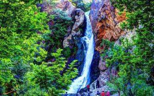 معرفی آبشار شلماش در آذربایجان غربی سایت 4s3.ir