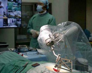 خبرهای پزشکی : نخستین ربات جراحی مفصل ران سایت 4s3.ir