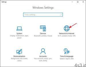 ويندوز 7 را به اينترنت متصل کنيد سایت 4s3.ir