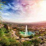 چشمه لادر یکی از جاذبه های دیدنی خمینی شهر اصفهان سایت 4s3.ir
