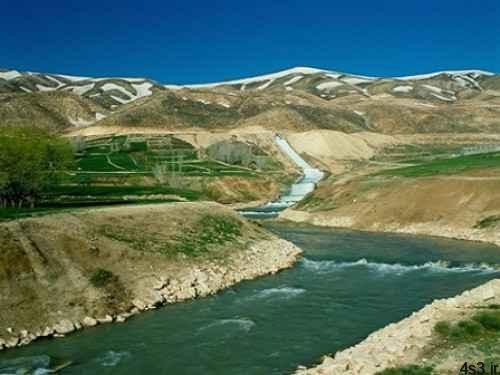 چشمه کوهرنگ و مناظر زیبای آن سایت 4s3.ir