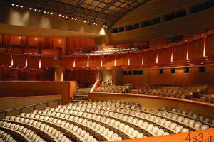 استانداردهای طراحی سالن های آمفی تئاتر و فضاهای جانبی سایت 4s3.ir