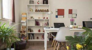 ایجاد فنگ شویی مناسب در یک دفتر کار کوچک سایت 4s3.ir