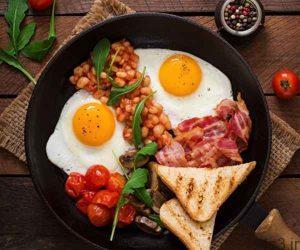 مغز با صبحانه بیدار میشود سایت 4s3.ir