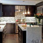 تصاویر دیزاین آشپزخانه مدرن و شیک سایت 4s3.ir
