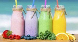 تقویت سلامت بدن با یک اسموتی رنگین کمانی سایت 4s3.ir