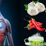 توصیههای غذایی برای بهبود گردش خون سایت 4s3.ir