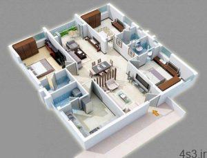 جدیدترین نقشه ساختمان سه بعدی سایت 4s3.ir