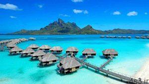 جزایر زیبا و استثنایی بورا بورا + تصاویر سایت 4s3.ir