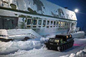 جزیره دیکسون جزیرهای یخ زده در روسیه سایت 4s3.ir