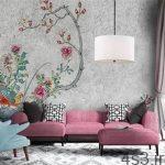 دیوارهای خانه را رنگ کنیم یا کاغذ دیواری؟ سایت 4s3.ir