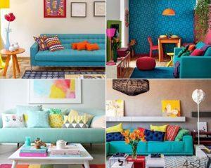 راههای ساده برای افزودن رنگ در دکوراسیون سایت 4s3.ir