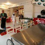 رستورانی شبیه به بیمارستان + تصاویر سایت 4s3.ir