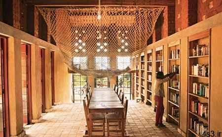 زیباترین کتابخانه های غیرعادی جهان سایت 4s3.ir