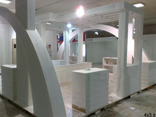 ساخت غرفه نمایشگاهی سایت 4s3.ir