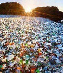 سواحل شیشهای در کالیفرنیا +تصاویر سایت 4s3.ir