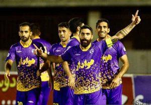لیگ دسته اول فوتبال  پایان هفته بیستوهشتم با پیروزی شاگردان عنایتی سایت 4s3.ir