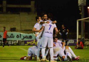 لیگ دسته اول فوتبال  پیروزی مدعیان در شب شکست صدرنشین سایت 4s3.ir