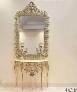 مدل آینه شمعدان سایت 4s3.ir