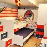 مدل کمد و تخت های دو طبقه بچه ها سایت 4s3.ir