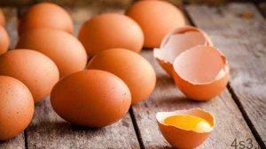 نحوه تمیزکردن تخم مرغ سایت 4s3.ir